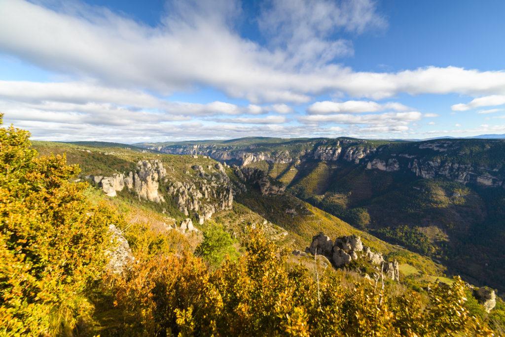 Panorama sur les Gorges du Tarn